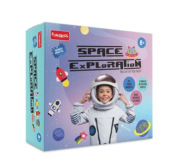 Funskool | Funskool - Handycrafts Space Exploration DIY Art & Craft Kits for Boys age 8Y+
