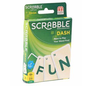 Mattel    Mattel Scrabble Dash Card Game, Games for Kids age 10Y+