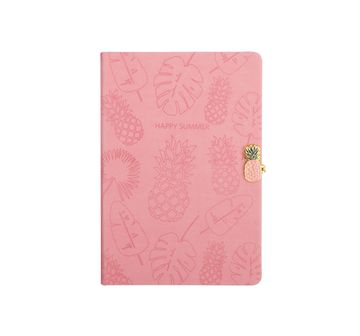 Syloon | Tropical - Pink Pu A5 Notebook