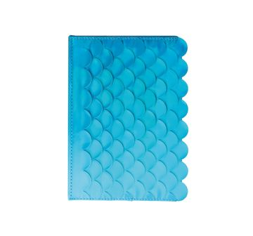 Syloon | Syloon Metallic - Mermaid Blue Holo Pu A5 Notebook Study & Desk Accessories for Kids age 5Y+ (Blue)