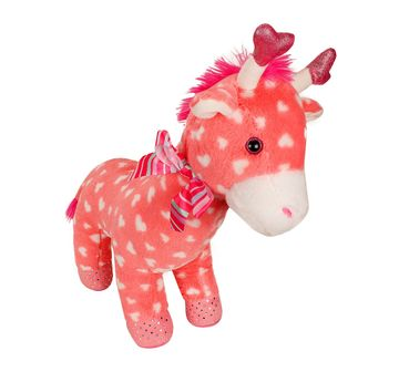 Fuzzbuzz | 48cm Giraffe Pink