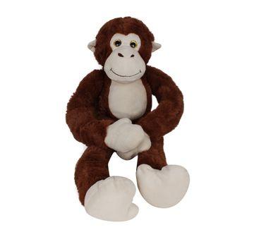 Fuzzbuzz | Monkey Animal Plush - Brown - 71Cm