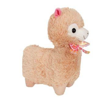 Fuzzbuzz | Llama Stuffed Plush Toy - Brown - 33Cm