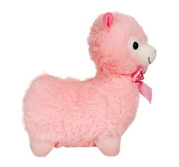 Fuzzbuzz | 28 cm Llama Pink