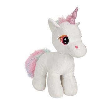 Fuzzbuzz | Standing Unicorn - White - 28Cm