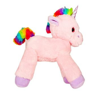 Fuzzbuzz | 53cm Lying Unicorns Pink