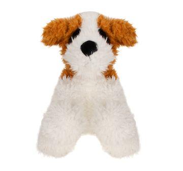 Fuzzbuzz | 25 cm Sitting Dog White