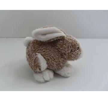 Fuzzbuzz | Soft Furry Bunny - Brown - 25Cm