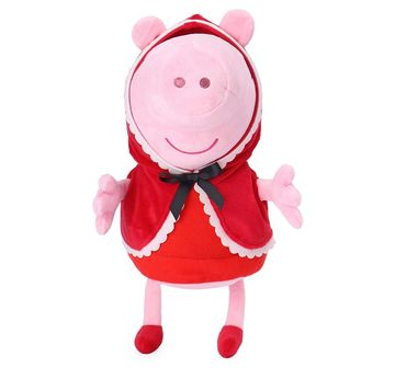 Peppa Pig |  Peppa Pig In Little Red Riding Hood Costume for Girls age 1Y+ - 30 Cm