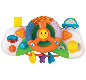 WinFun | Winfun - Light & Sounds Baby Crib Driver    Learning Toys for Kids age 6M+