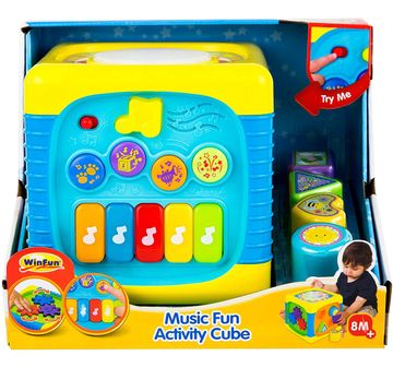 WinFun | Winfun - Music Fun Activity Cube Learning Toys for Kids age 8M+