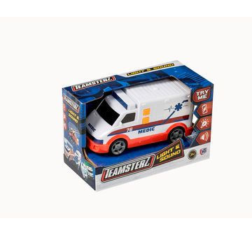 Ralleyz | Ralleyz Light And Sound Ambulance Small Vehicles for Kids age 3Y+