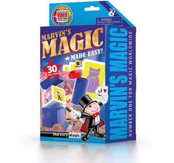 Marvin's Magic | Marvin'S Magic Made Easy 30 Tricks Set 1 Impulse Toys for Kids age 6Y+