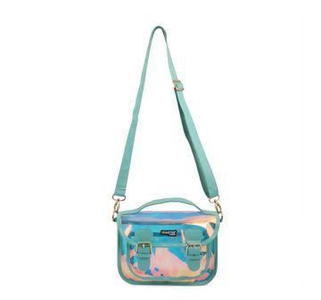 Hamster London | Hamster London Shiny Sling Bag Aqua