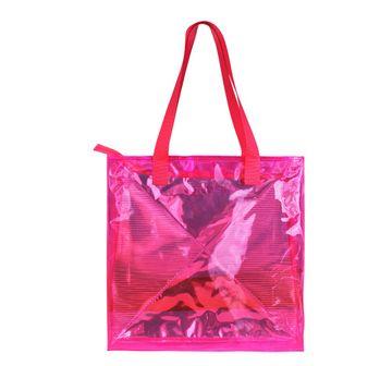 Hamster London   Hamster London Classic Tote Bag Pink