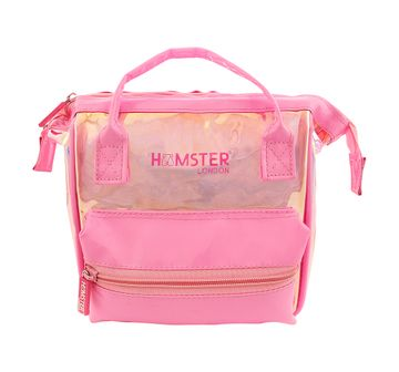 Hamster London | Hamster London Mini Backpack with Handle for Girls age 3Y+ (Pink)