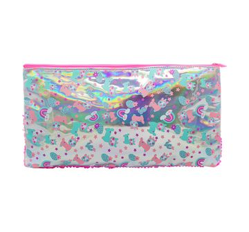 Hamster London | Hamster London Llama Sequin Pouch for Girls age 3Y+ (Pink)
