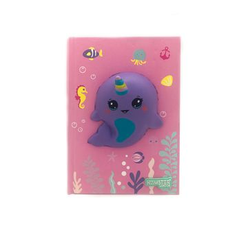 Hamster London | Hamster London Dolphin Diary for Kids age 3Y+ (Pink)