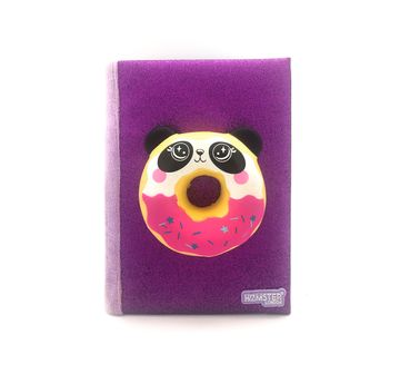 Hamster London   Hamster London Panda Doughnut Diary for Kids age 3Y+ (Purple)