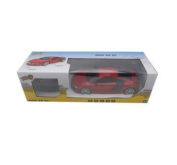 Ralleyz   Ralleyz 1:18 27Mhz Audi R8 Remote Control Car Red, 6Y+