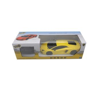 Ralleyz | Ralleyz 1:18 27Mhz Lamborghini Remote Control Car Yellow, 6Y+