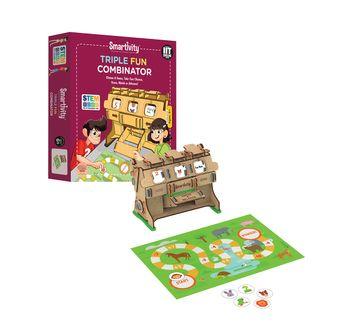 Smartivity | Smartivity Triple Fun Combinator STEM for Kids age 8Y+