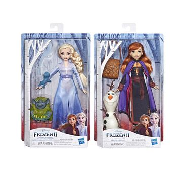 Disney   Disney Frozen 2 Storytelling Fashion Doll Assorted Dolls & Accessories for Girls age 3Y+