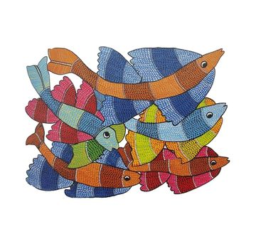 Froggmag |  Frogg  Gond 63Pc Puzzle for Kids age 7Y+ (Blue)