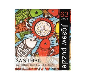 Froggmag   Frogg Santhal Puzzle 63Pc