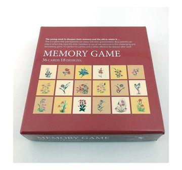 Froggmag | NE GAME FROGG MEMORY GAME MUGHAL FLOWERS