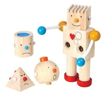 Plan Toys | Plan Toys Build -A- Robot for Kids age 3Y+