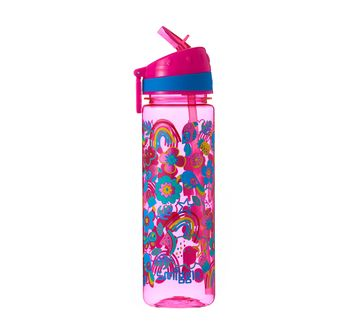 Smiggle | Smiggle Flow Drink Bottle with Flip Top Spout  Bags for Kids age 3Y+ (Pink)