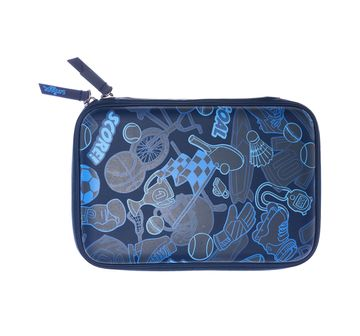 Smiggle | Smiggle Mesh Hardtop Pencil Case Bags for Kids age 3Y+ (Navy)