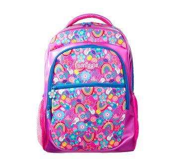 Smiggle   Smiggle Flow Backpack - Rainbow Print