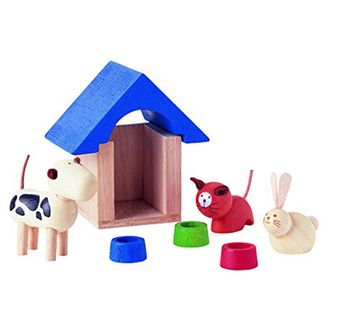 Plan Toys | Plan Toys Pets & Accessories Wooden for Kids age 3Y+