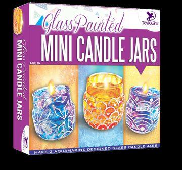 Toy Kraft   Toy Kraft Glass Painted Mini Jars DIY Art & Craft Kits for Kids age 8Y+