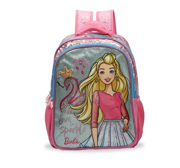 Barbie   Barbie Barbie Love Sparkle Glitter School Bag 41 Cm Bags for Girls age 7Y+