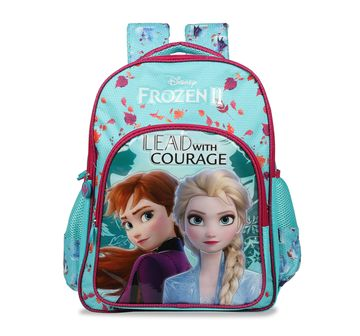 Disney | Disney Frozen2 Lead With Courage School Bag 46 Cm Bags for Girls age 10Y+ (Turquoise)