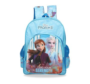 Disney | Disney Frozen2 Trust Your Journey School Bag 41 Cm Bags for Girls age 7Y+ (Blue)