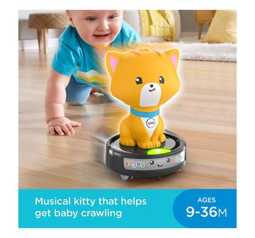 Fisher-Price | Fisher-Price Laugh & Learn Crawl-After Cat on a Vac