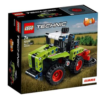 LEGO | Lego Technic Mini Claas Xerion (130 Pcs) 42102 Blocks for Kids age 7Y+