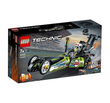 LEGO | Lego Technic Dragster (225 Pcs) 42103  Blocks for Kids age 7Y+