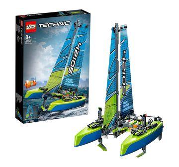 LEGO | Lego Technic Catamaran (404 Pcs) 42105  Blocks for Kids age 8Y+