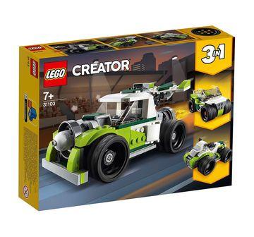 LEGO | Lego Creator Rocket Truck (198 Pcs) 31103 Blocks for Kids age 7Y+