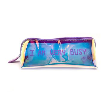 Hamster London   Hamster London I Am Very Busy Pouch for Girls age 3Y+ (Purple)