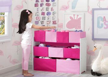 Mothercare | Delta Children Toy Organizer Pink