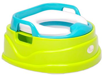 Mothercare | R For Rabbit Ding Dong Baby Potty Seat & Chair Green Blue