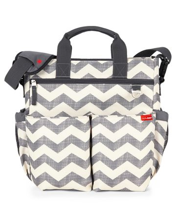 Mothercare   Skip Hop Duo Deluxe 3.0 Changing Bag Grey