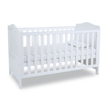 Mothercare | Papacare Addington Cot Bed White