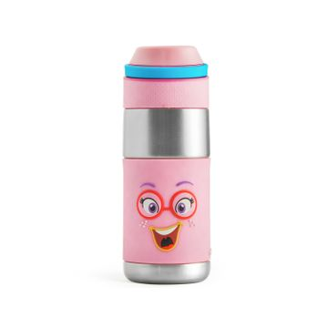 Mothercare | Rabitat Clean Lock Insulated Stainless Steel Bottle - Sizzle
